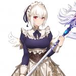 【アイギス攻略】ブラックユニット『王宮侍女武官セーラ』の図鑑情報をご紹介♪